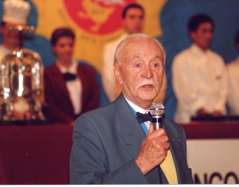 Michel Gueret - Président Fondateur de l'Ordre des Canardiers